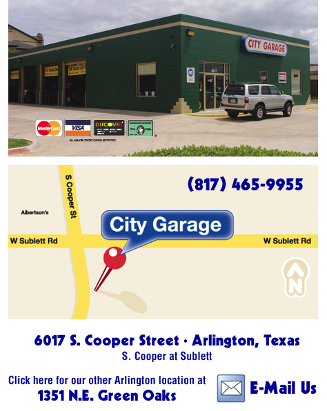 City Garage Plano Texas
